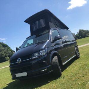 Black VW Camper