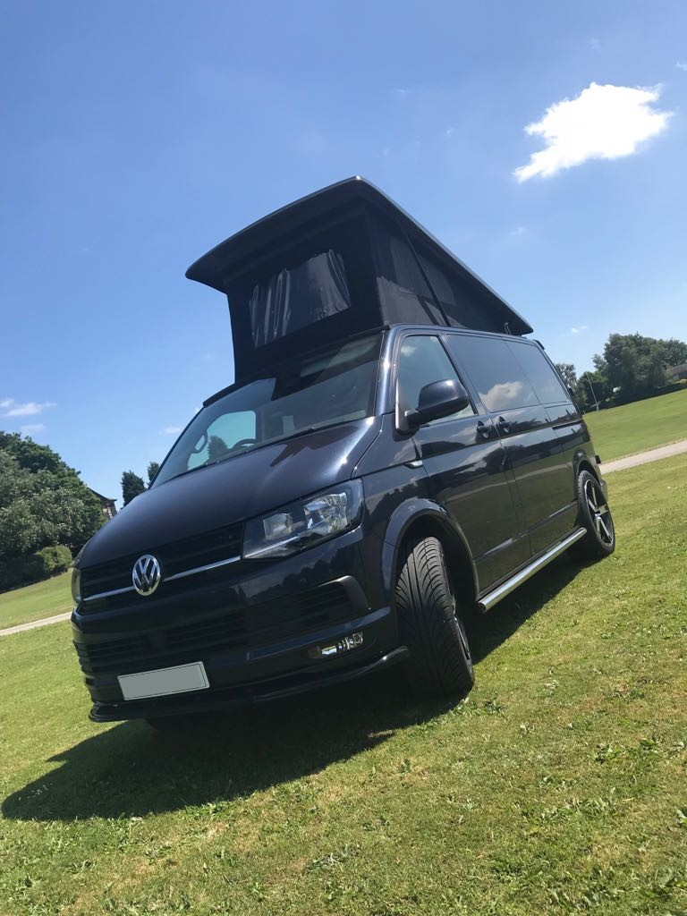 VW Camper Black