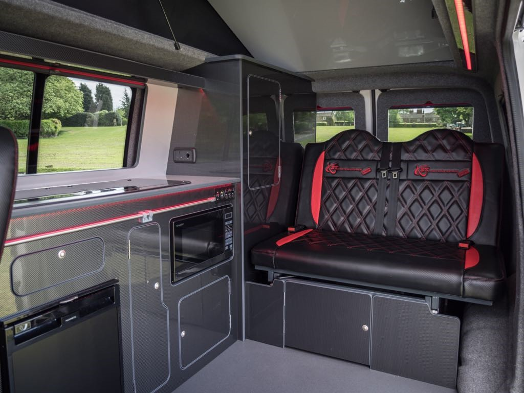 VW Camper Interior Black