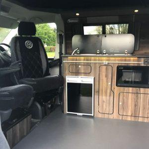 VW Van interior