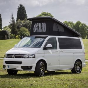 White Campervan VW T6